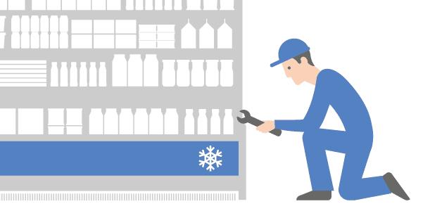 Mantenimiento lista de verificación supermercados retail Iristrace