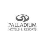 logo Palladium hotel & resorts crea registros de control en alojamientos y hoteles usando Iristrace
