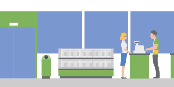 Auditorías en servicio y atención al cliente en estaciones de servicio usando Iristrace