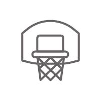 Chancha de baloncesto lista de verificación en instalaciones deportivas
