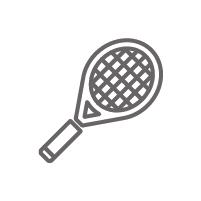 raqueta de tenis registros de control en instalaciones deportivas